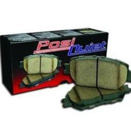 Brakes 1988-96 Brake Pads Posi Quiet Semi Metallic Rear
