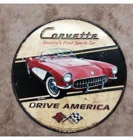 Collectibles 1957 Metal Sign Round 12""