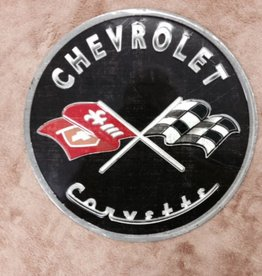 """Collectibles C1 Metal Sign Round 12"""" Black"""