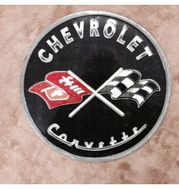 "Collectibles C1 Metal Sign Round 12"" Black"