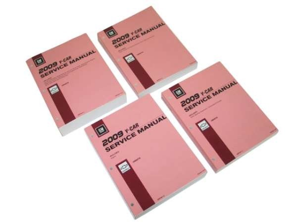 Books\Manuals GM Factory Service Manual 4 Book Set