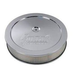 "Fuel\Air 14"" X 3"" Chrome Air Cleaner with Summit Logo"