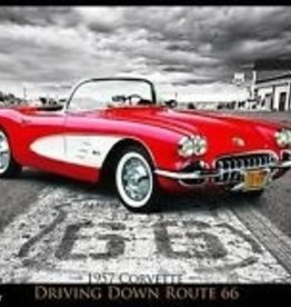 Collectibles 'Driving Down Route 66'