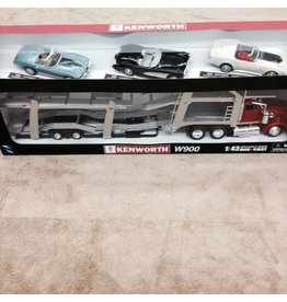 Collectibles 1:43 Scale Transporter with 3 Diecast Corvettes.