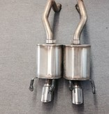 Used Parts Corsa Exhaust for 2005-13 Manual Trans or 2005-06 Automatic W/O Paddle Shift!