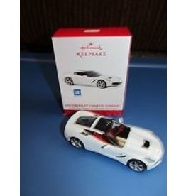 "Collectibles 2014 Corvette ""Stingray' Hallmark Ornament"