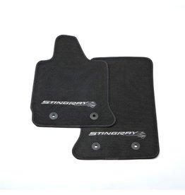 Accessories 2014-15 Floor Mats Stingray Logo Black