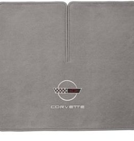 Accessories 1996-96 Cargo Mat Coupe with C4 Logo/C4 Script Gray