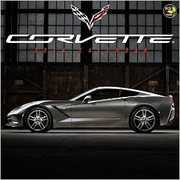 "Books\Manuals 2016 Corvette Calendar 12""X12"""