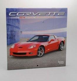 "Books\Manuals 2016 Corvette Calendar 18 Month 7""X7"""