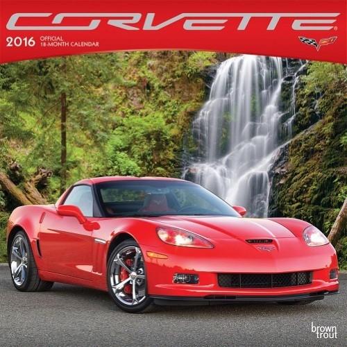 """Books\Manuals 2016 Corvette Calendar 12""""X12"""""""