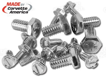 Wheels\Tires 1967 Bolt On Wheel Screws 17 Piece Set