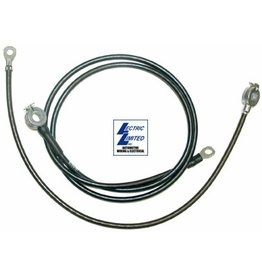 Electrical 1966-67 Batteey Cables 324/427 with AC