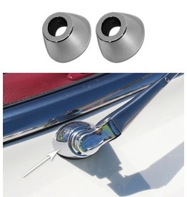 Body 1958-62 Wiper Arm Spacers Chrome