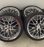 """Consignment 2006-2013 Corvette Wheels 19"""" Front & 20"""" Rear with Michelin Pilot Sport Run Flat Tires"""