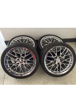 "Consignment 2006-2013 Corvette Wheels 19"" Front & 20"" Rear with Michelin Pilot Sport Run Flat Tires"