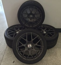 Consignment 2005-13 TSW Nurburgring Gunmetal Matte Wheels with Toyo R888 Tires with TPMS Sensors Set of 4