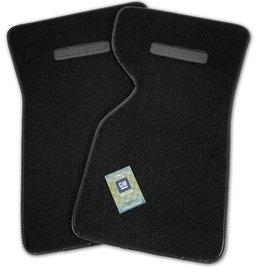 Accessories 1968-82 Floor Mats Cut Pile Black with Logo