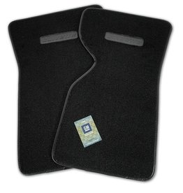 Accessories 1968-82 Floor Mats Cut Pile Black with Logo