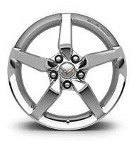 "Wheels\Tires 2014-16 Chrome Wheel Base 19""X 10"" GM"