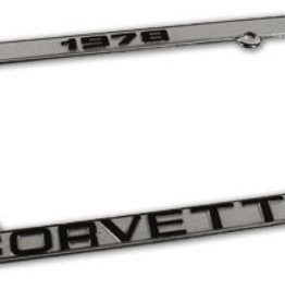Accessories 1978 License Plate Frame
