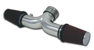 Fuel\Air 2001-04 Cold Air Intake Aluminum W/Black Filters