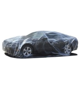 Accessories Universal Plastic Car Cover 12' X 22' with Elastic Bottom