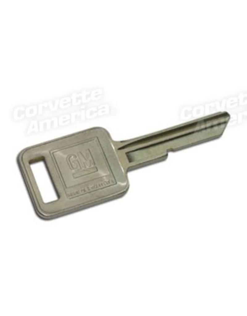 Ignition Key Blank Square