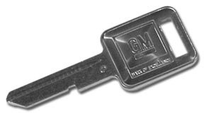 Ignition Key Blank Square C