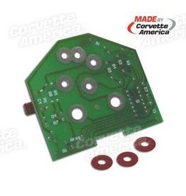 Electrical 1980-82 Tach Printed Circuit Board