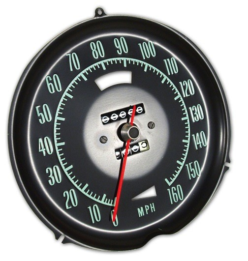 Electrical 1969-71 Speedometer W/O Speed Warning