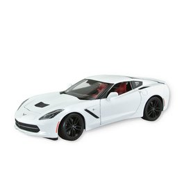 Collectibles C7 Corvette Diecast 1:18 Maisto Z51White