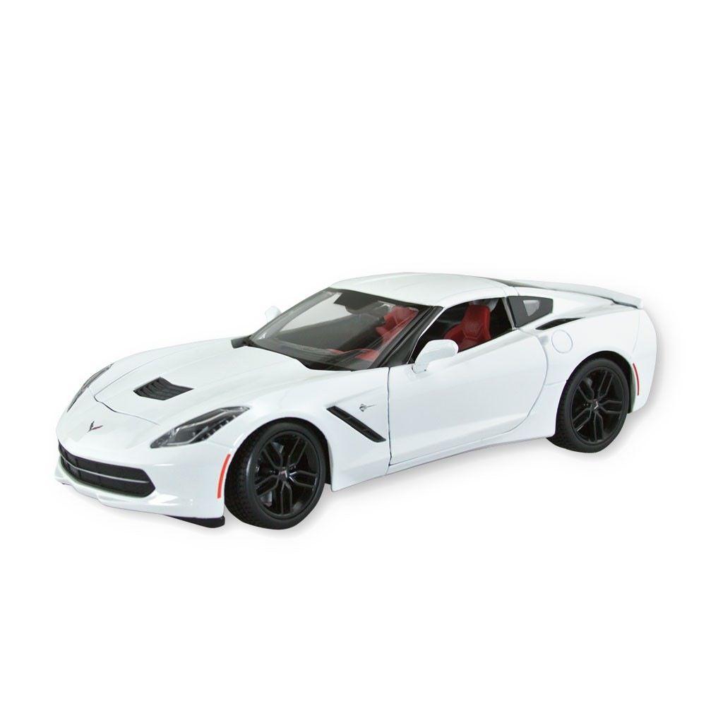 Collectibles C7 Corvette Diecast 1:18 Maisto Z51White