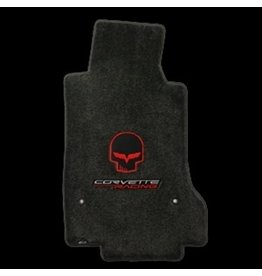 Accessories 2005-07E Floor Mats with Jake Logo Ebony Pair