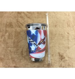 Accessories C7 'American Flag' Mugzie To Go Cup 16oz