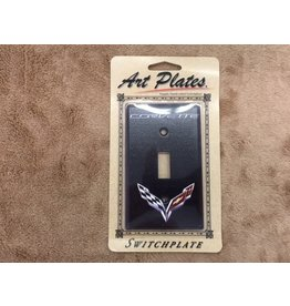 Accessories C7 Logo Light Switch Plate Single