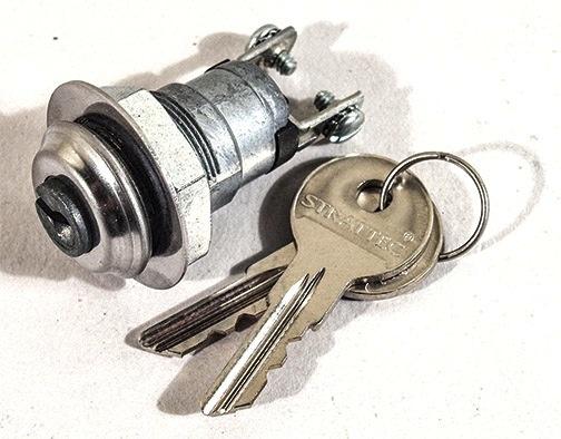 Electrical 1968-70 Alarm Switch with Keys