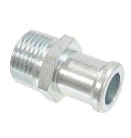 Heating\AC 1959-80 Heater Hose Fitting On Intake 1/2""