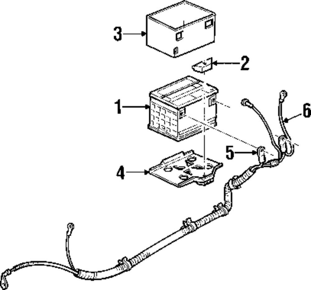 Electrical 1968-2013 Battery Heat Shield