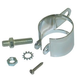 Fuel\Air 1963-65 Fuel Filter Bracket Chrome