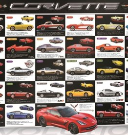"Collectibles 1953-2015 Corvette 'Evolution' Puzzle 1000 Piece 20""X27"""