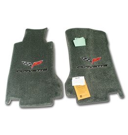 Accessories 2005-07E Floor Mats Dual Logo Titanium