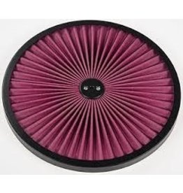 "Fuel\Air 14"" Air Cleaner Lid Filter Top Black"