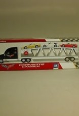 Collectibles 2006 Getty Corvette Transport Carrier with 3 Diecast Corvettes