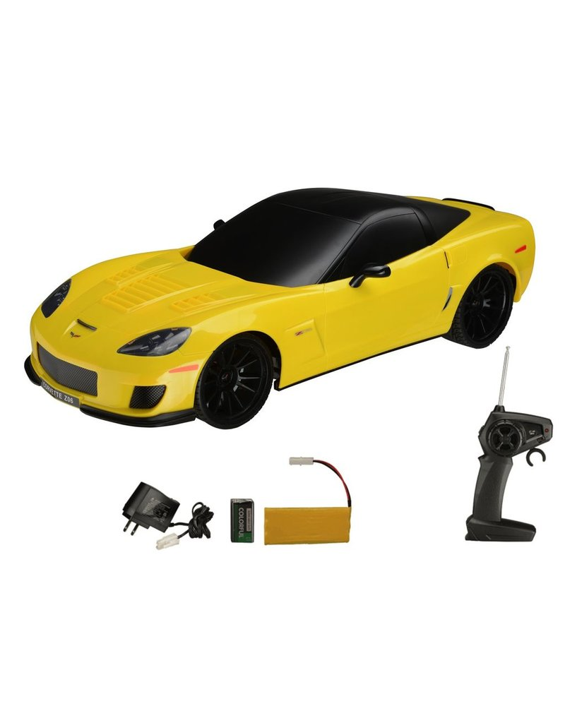Collectibles C7 Corvette Z06 Radio Controlled Car Yellow