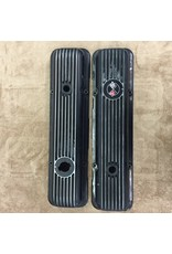 Engine One pair of 'Used' LT1/L82 Aluminum Valve Covers, Black.