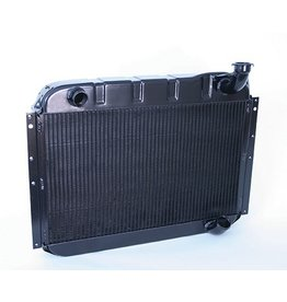 Cooling 1955-60 Aluminum Radiator with Black Ice Coating