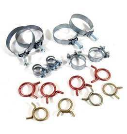 Cooling 1963-65 Hose Clamp Kit 327 with A/C