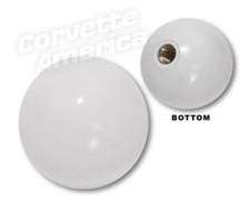 Driveline 1956-62 Shift Knob White