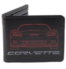 Accessories C6 Corvette Outline Wallet